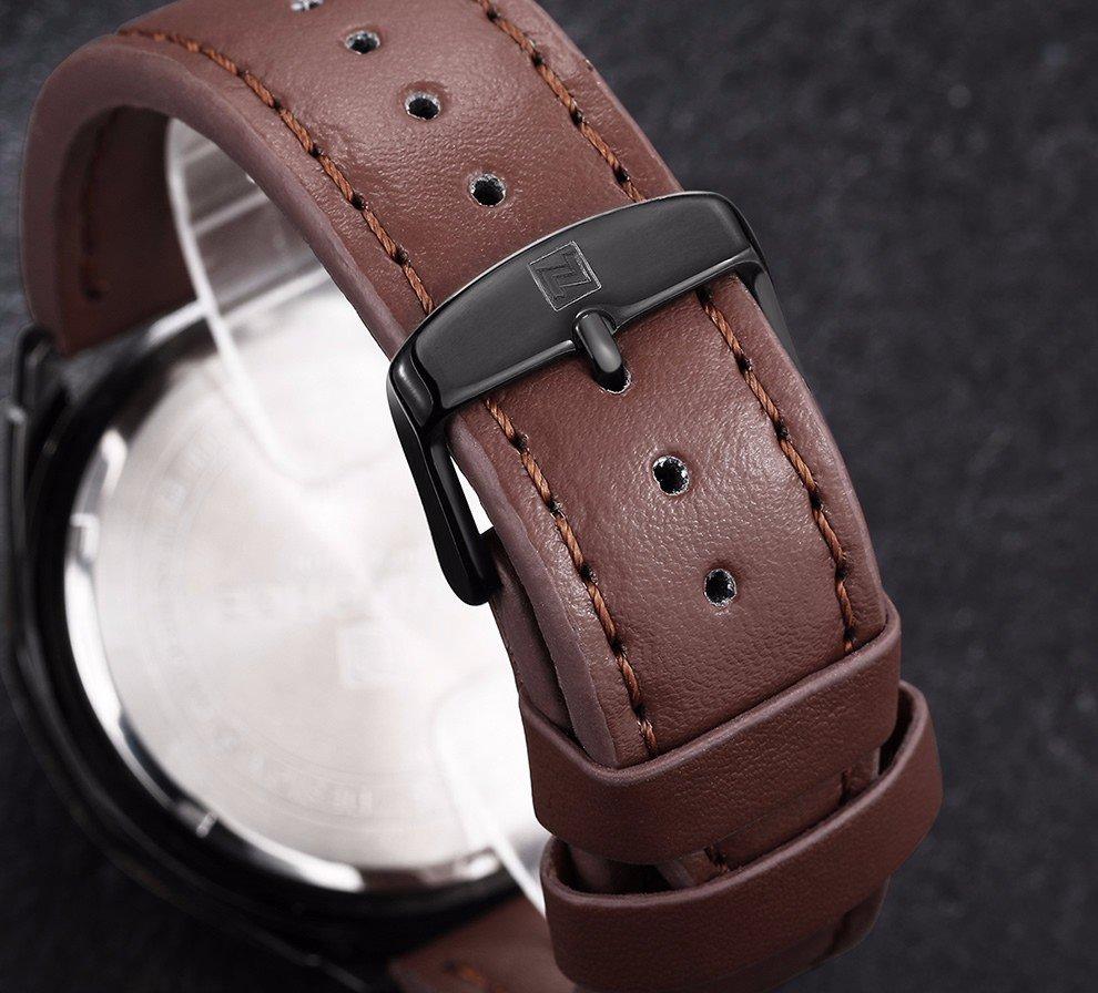Zegarek Naviforce Harry czarny złoty 15