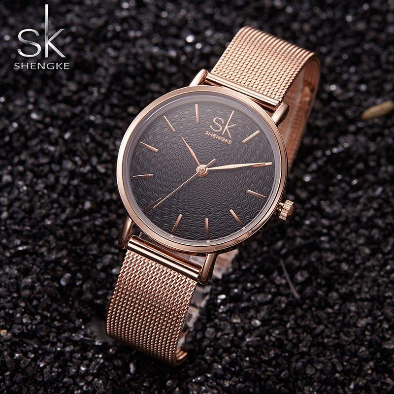 Zegarek Shengke Milan złoty 8