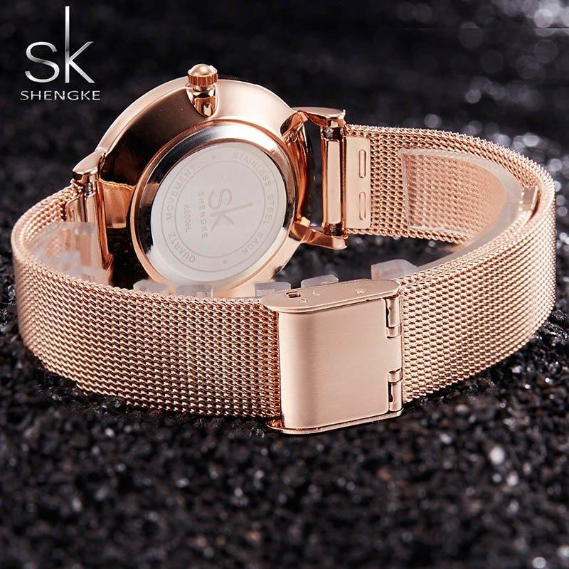 Zegarek Shengke Milan złoty 9