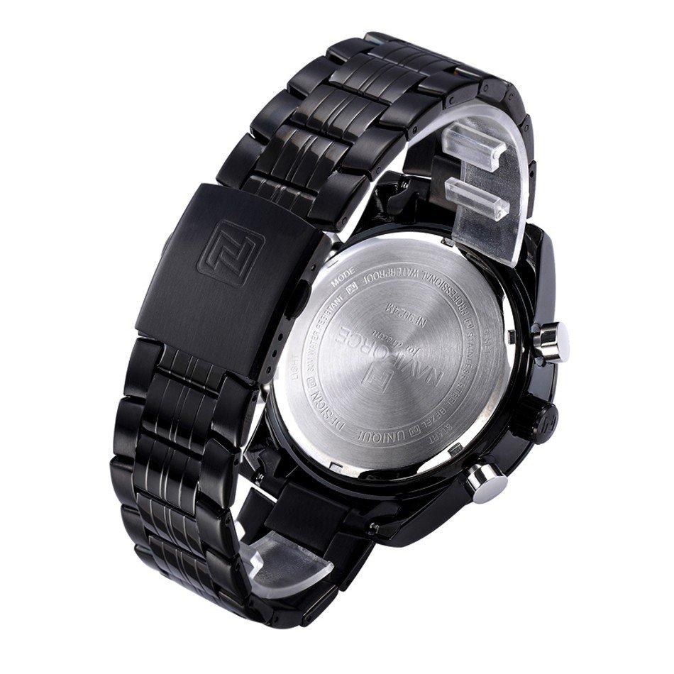 Zegarek Naviforce Power czarny czerwony 11