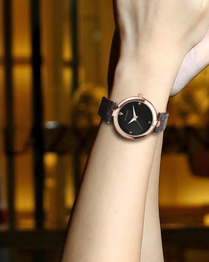 Zegarek Sanda Diamond czarny 7