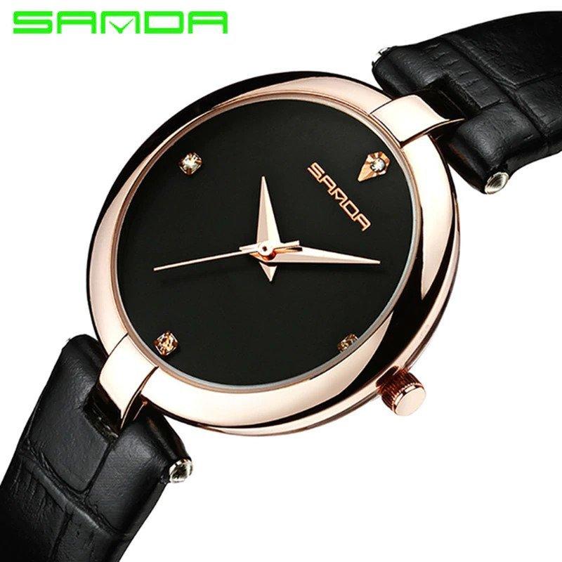 Zegarek Sanda Diamond czarny 8