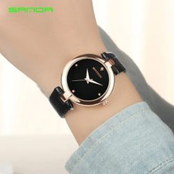 Zegarek Sanda Diamond czarny 4