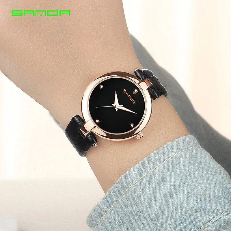 Zegarek Sanda Diamond czarny 10