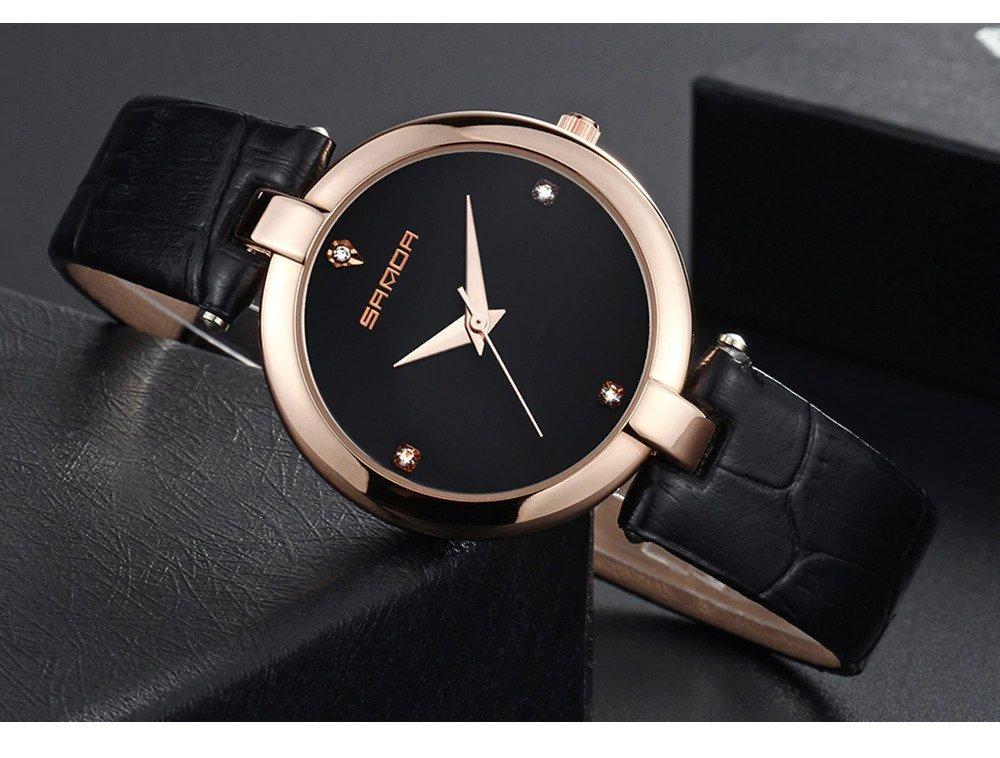 Zegarek Sanda Diamond czarny 11