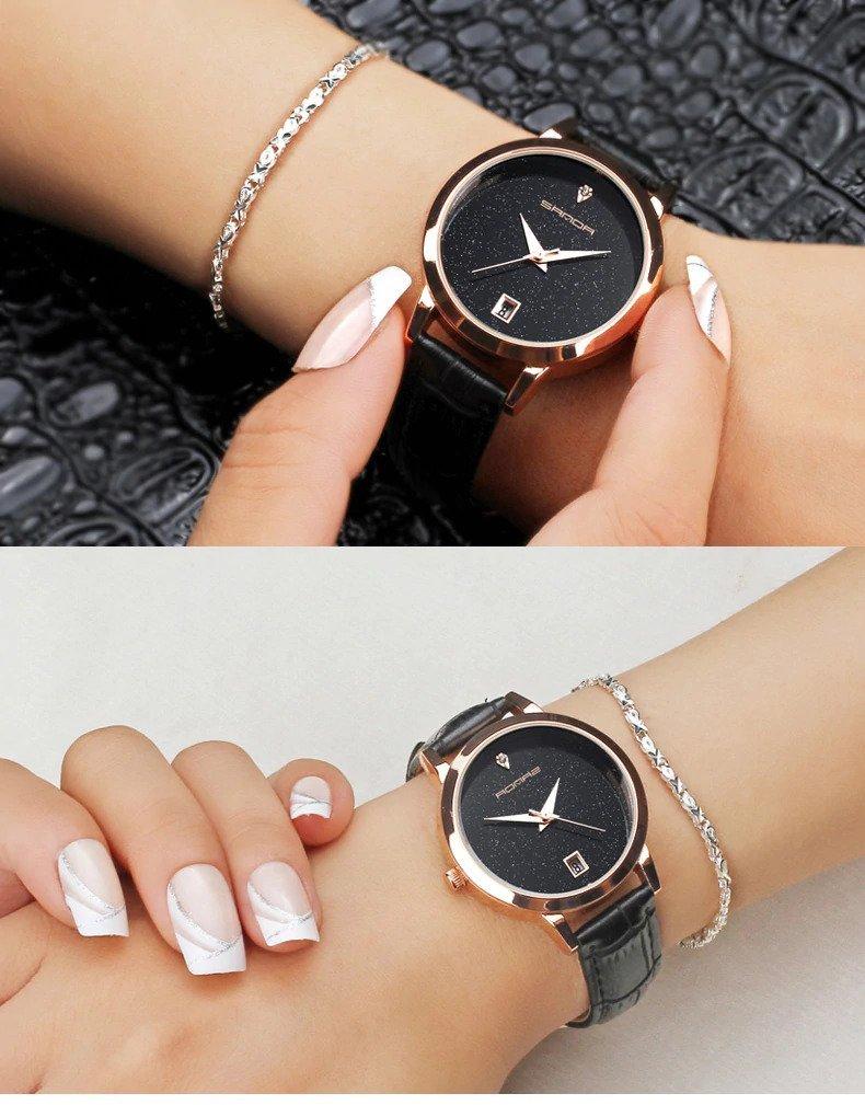 Zegarek Sanda Jane czarny 10