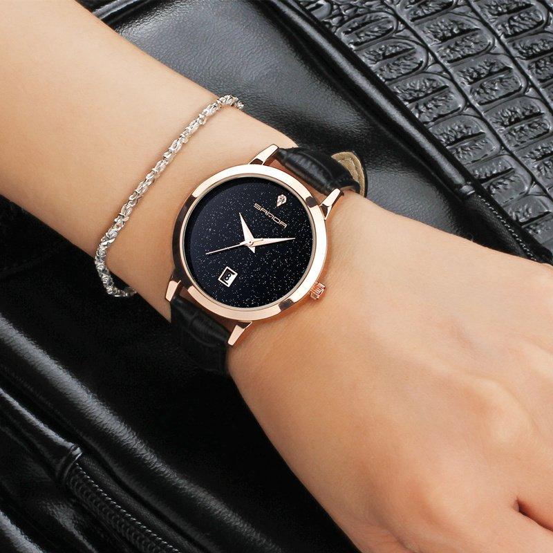 Zegarek Sanda Jane czarny 11
