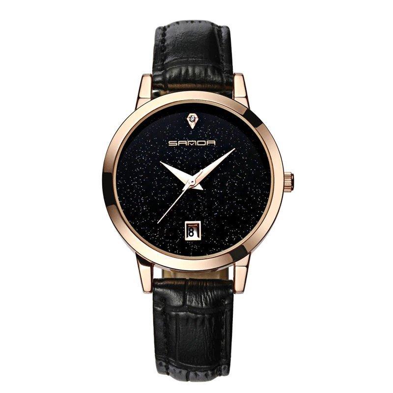 Zegarek Sanda Jane czarny 12