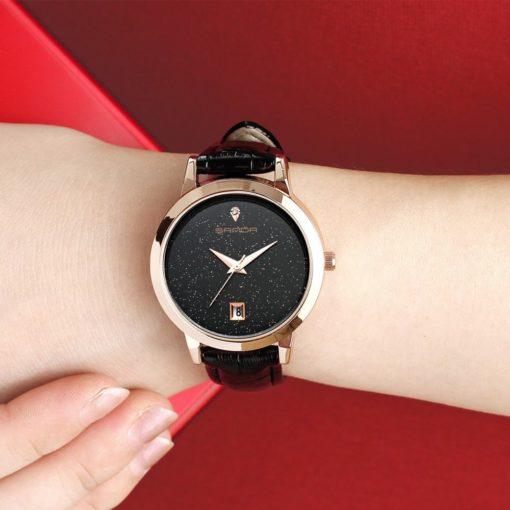 Zegarek Sanda Jane czarny 3