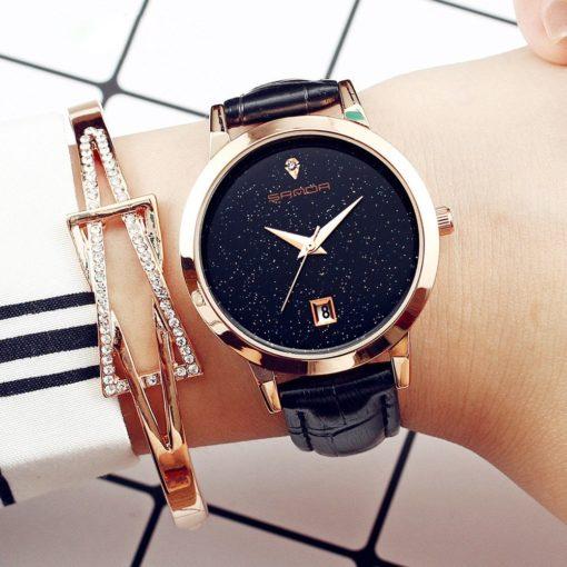 Zegarek Sanda Jane czarny 4