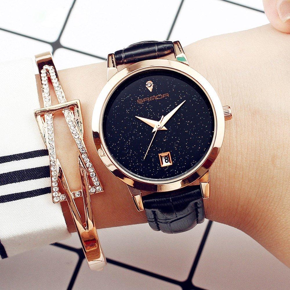 Zegarek Sanda Jane czarny 14