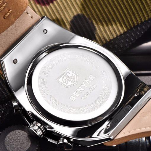Zegarek Benyar Blackbird srebrny-srebrny 2