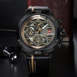 Zegarek Naviforce Maverick złoty