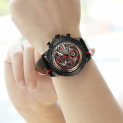 Zegarek Naviforce Maverick czerwony 4