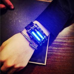 Zegarek Binarny LED czarny