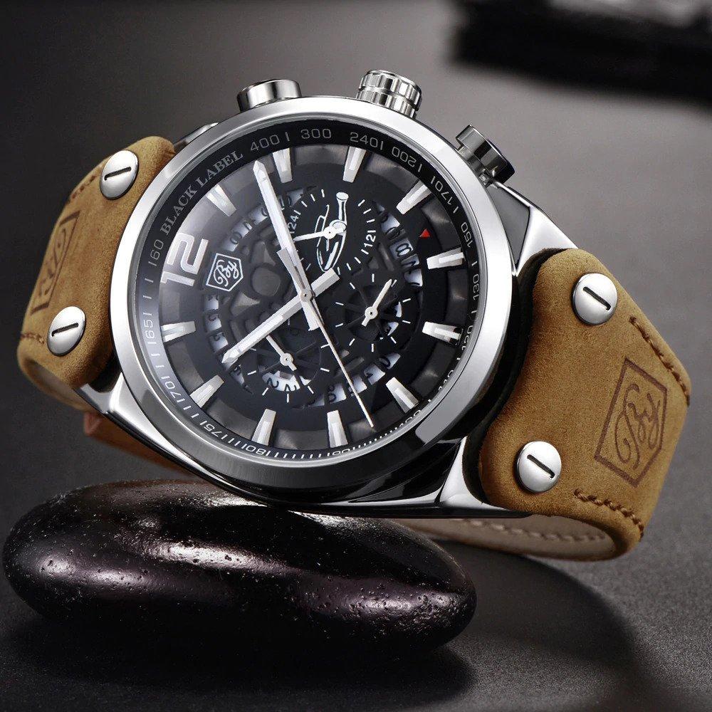 Zegarek Benyar Blackbird srebrny-srebrny 16
