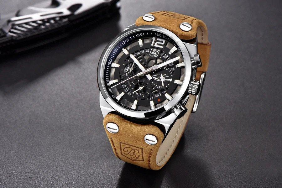 Zegarek Benyar Blackbird srebrny-srebrny 17