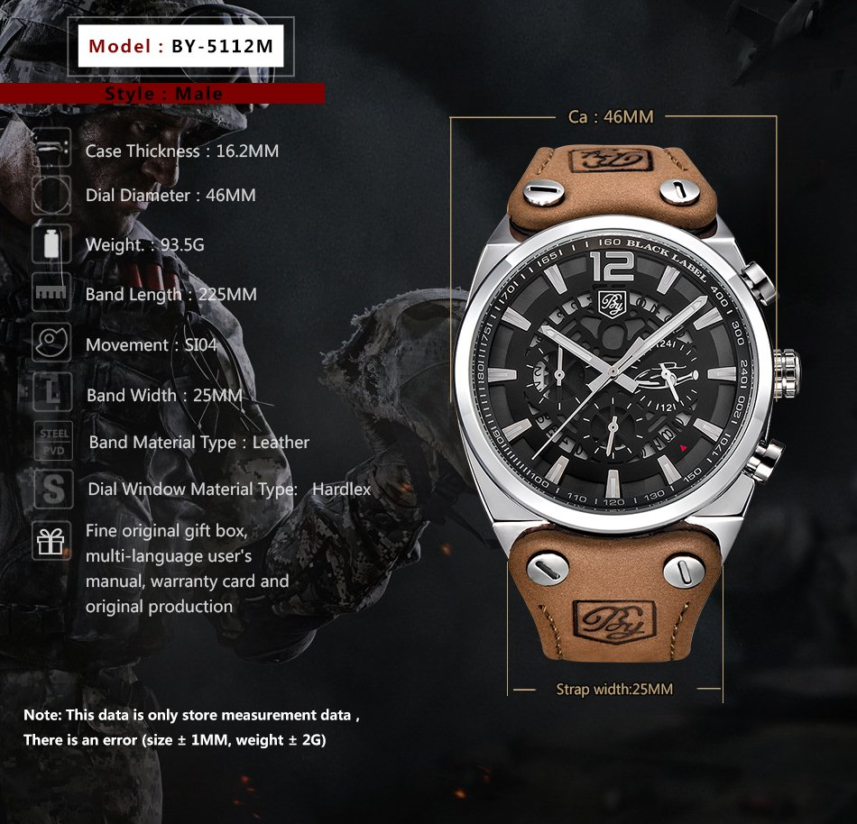 Zegarek Benyar Blackbird srebrny-srebrny 10