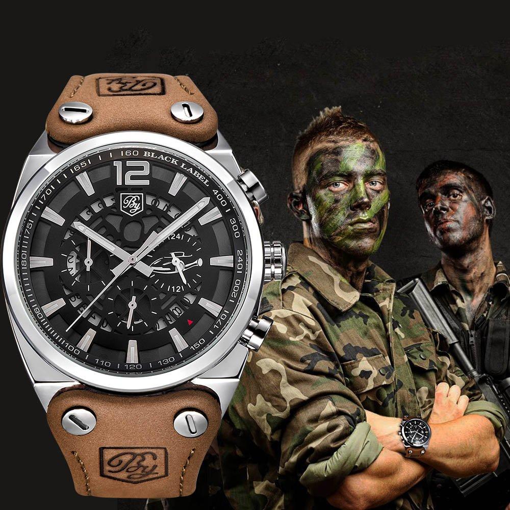 Zegarek Benyar Blackbird srebrny-srebrny 11