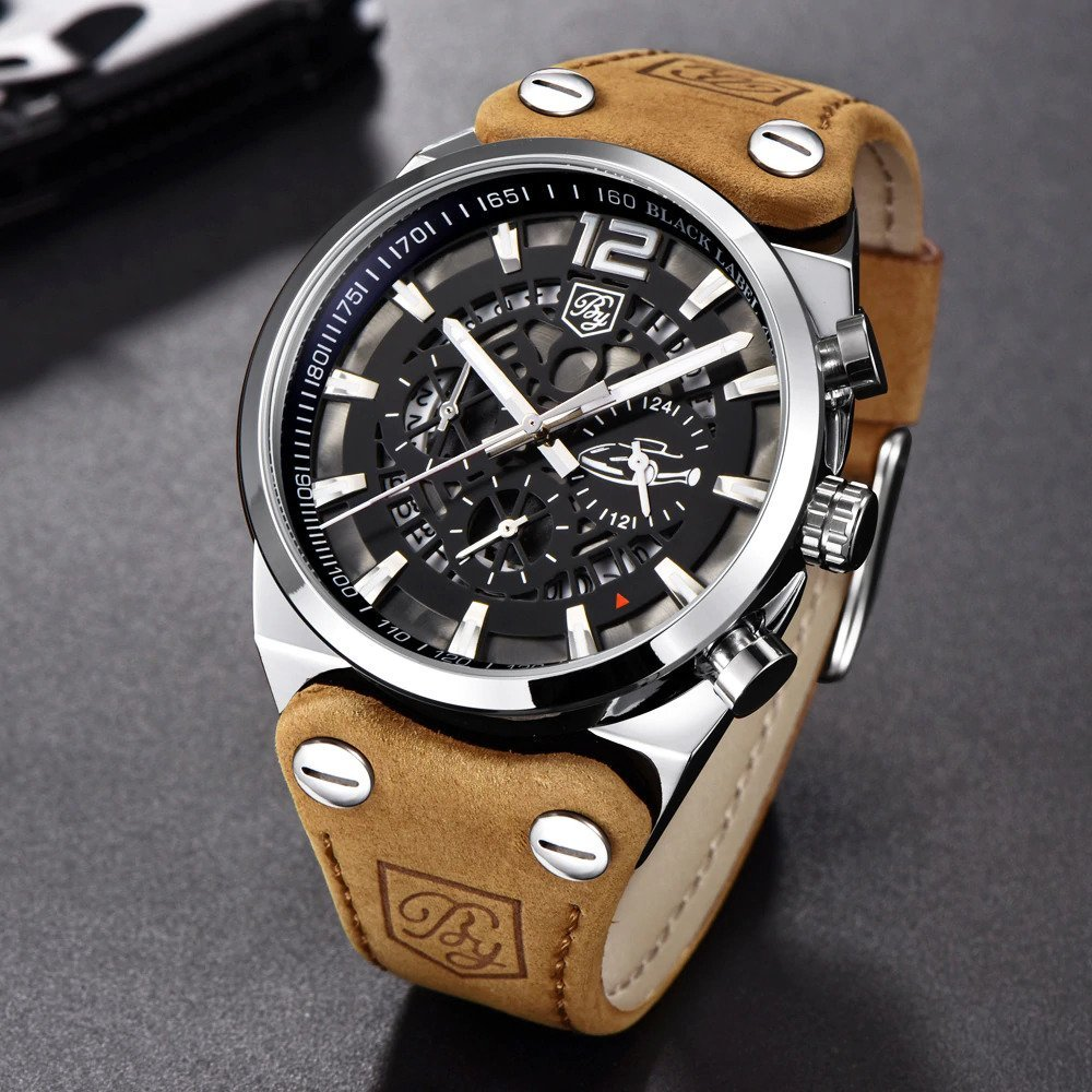 Zegarek Benyar Blackbird srebrny-srebrny 13