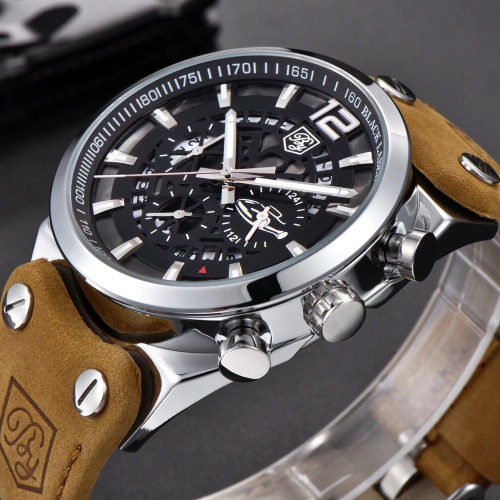 Zegarek Benyar Blackbird srebrny-srebrny 14