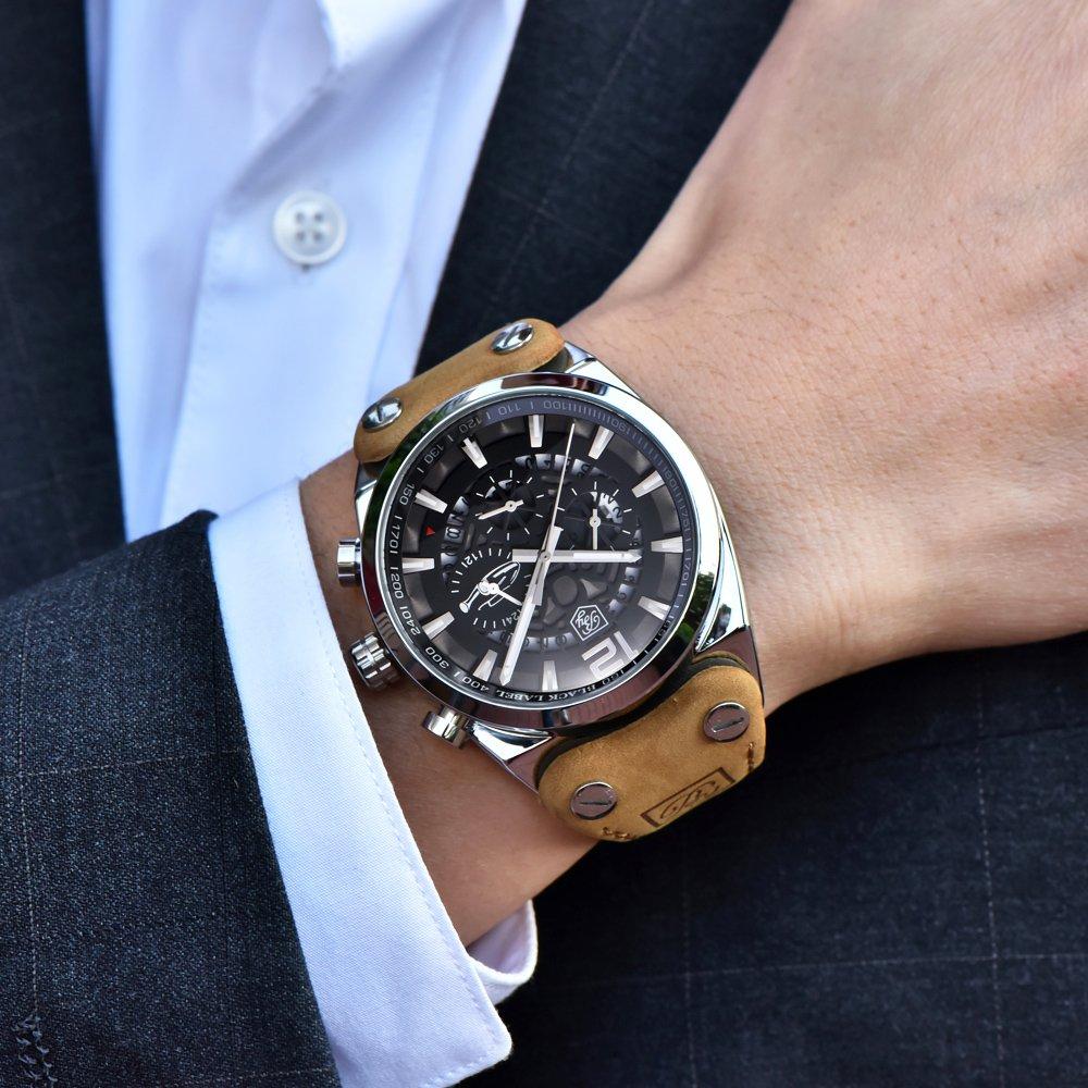 Zegarek Benyar Blackbird srebrny-srebrny 15