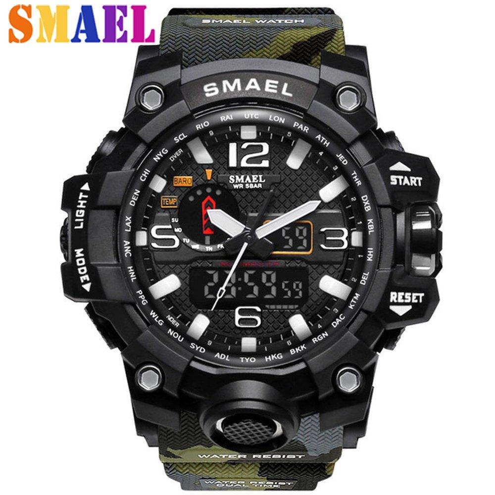 Zegarek Smael Camouflage moro 7