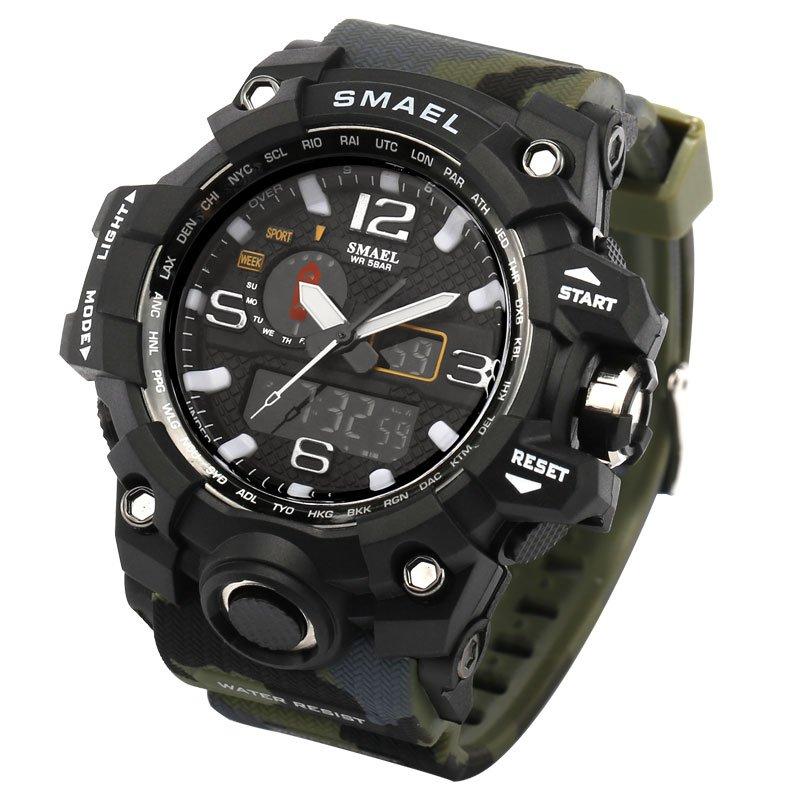 Zegarek Smael Camouflage moro 10