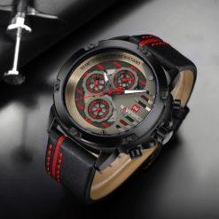 Zegarek Naviforce Maverick czerwony 2