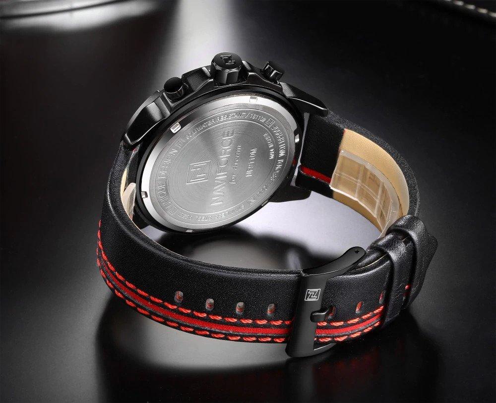 Zegarek Naviforce Maverick czerwony 7