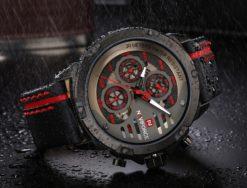 Zegarek Naviforce Maverick czerwony 1