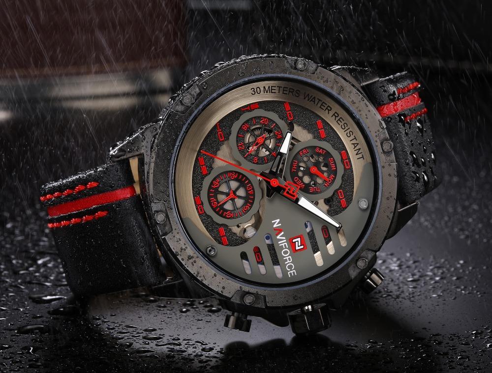 Zegarek Naviforce Maverick czerwony 8