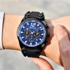 Zegarek Benyar Canaveral czarny-niebieski 4