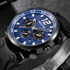 Zegarek Benyar Canaveral czarny-niebieski 1