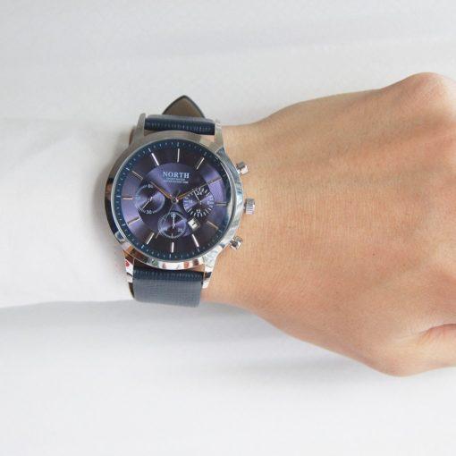 Zegarek North Iceland niebieski 4