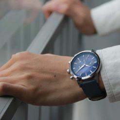 Zegarek North Iceland niebieski 13