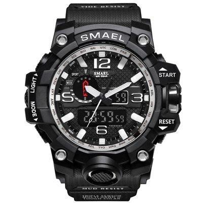 Zegarek Smael Camouflage biały 8