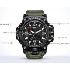 Zegarek Smael Camouflage zielony 7