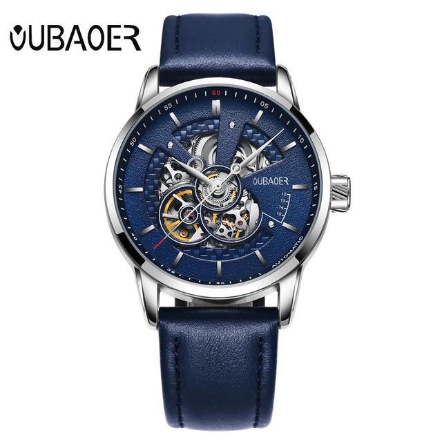 Zegarek Oubaoer Primera niebieski 8