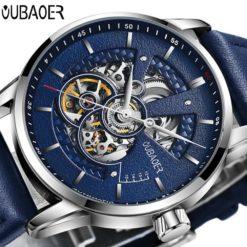Zegarek Oubaoer Primera niebieski 6