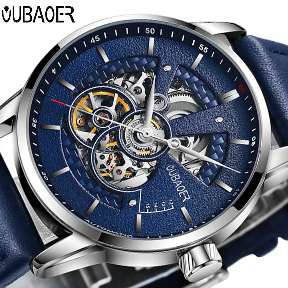 Zegarek Oubaoer Primera niebieski 9