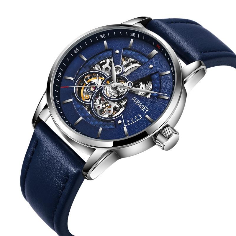 Zegarek Oubaoer Primera niebieski 10