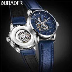 Zegarek Oubaoer Primera niebieski 5