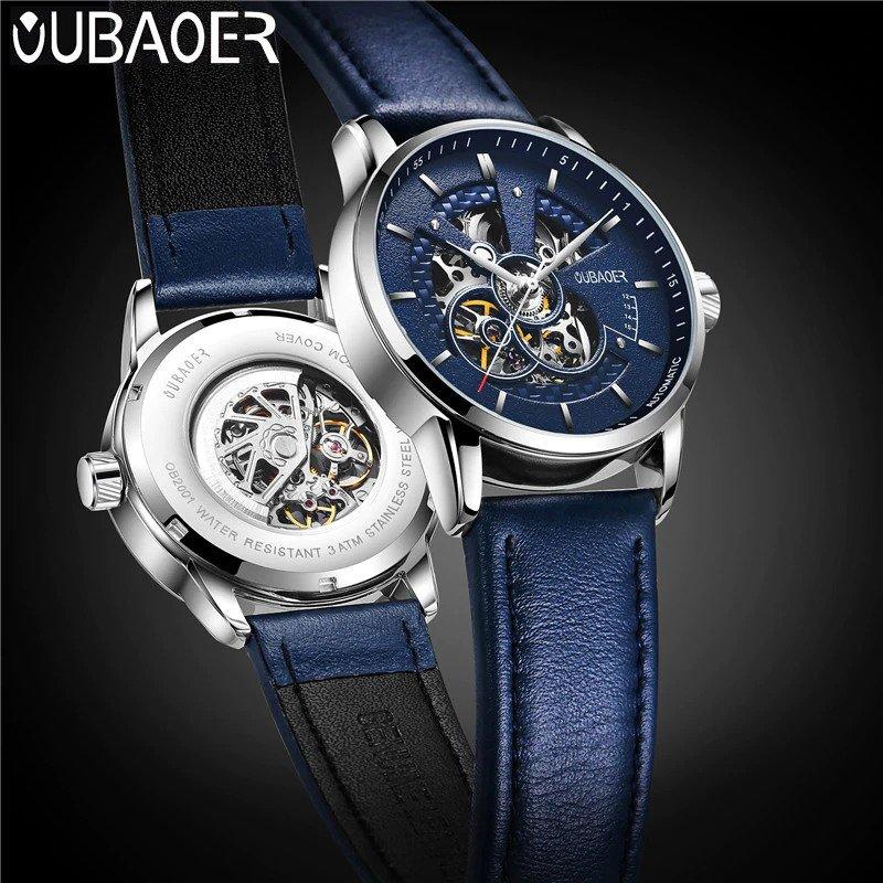 Zegarek Oubaoer Primera niebieski 12