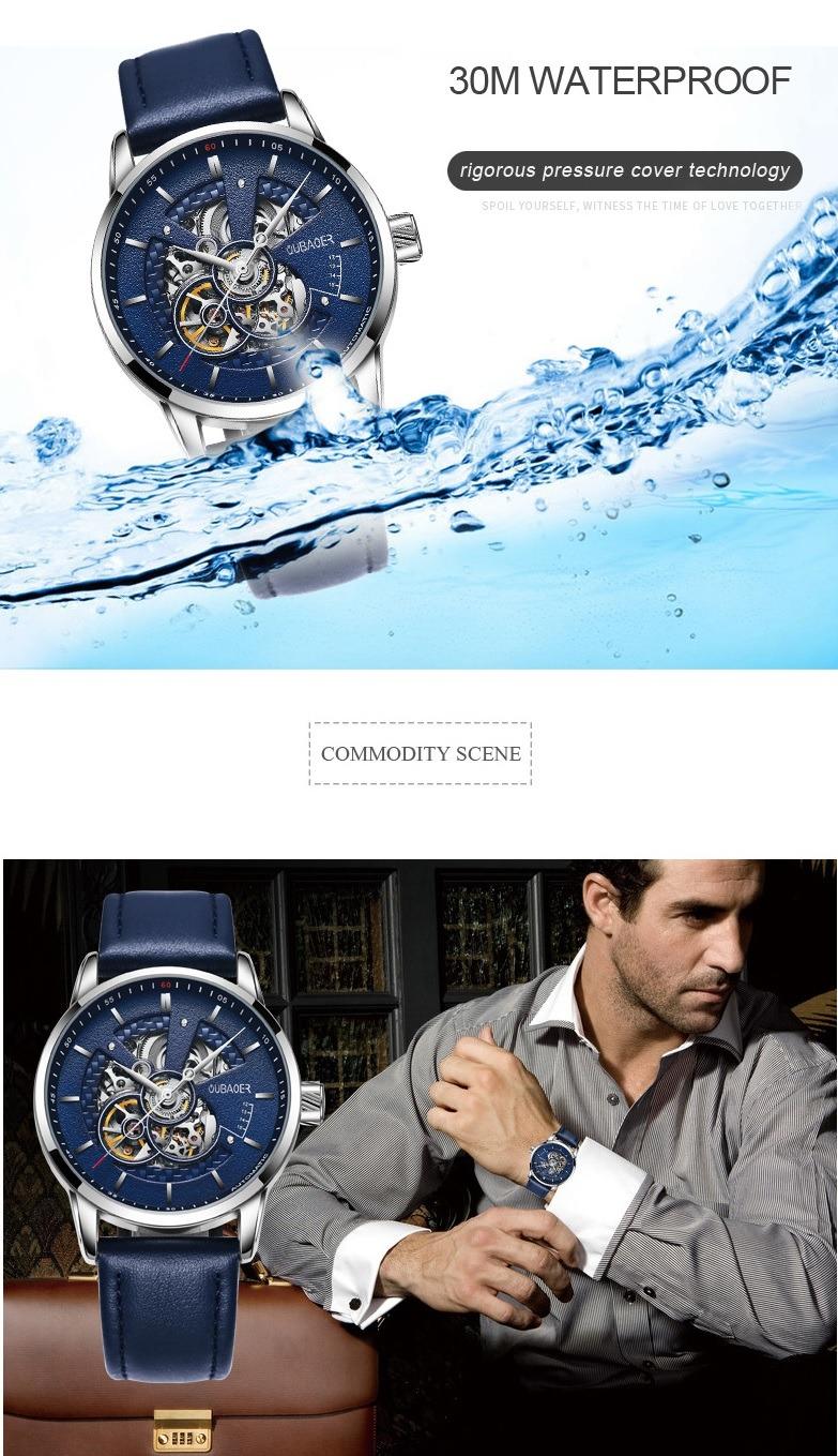 Zegarek Oubaoer Primera niebieski 13