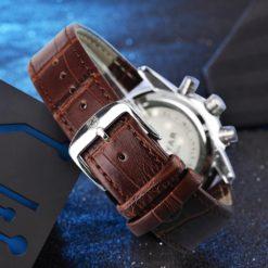 Zegarek Benyar Royal srebrny biały 5