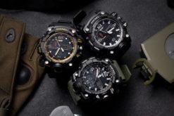 Zegarek Smael Camouflage biały 5