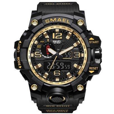 Zegarek Smael Camouflage złoty 15