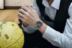 Zegarek Benyar Steel srebrno-czarny