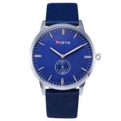 Zegarek North Alaska niebieski